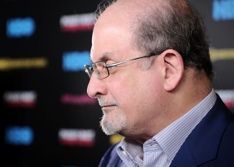 Literary glamour: Salman Rushdie is as much a celebrity as an author now