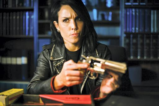 Punk heroine: Noomi Rapace as Lisbeth Salander in 'The Girl Who Played with Fire'