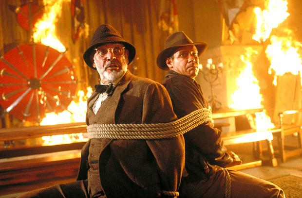 Indiana Jones and the Last Crusade, which was shot at Elstree.