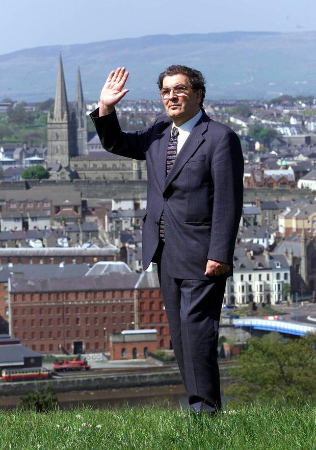 Charisma: John Hume was blessed with a tender heart and tough mind.
