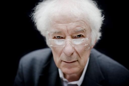 The late Seamus Heaney.