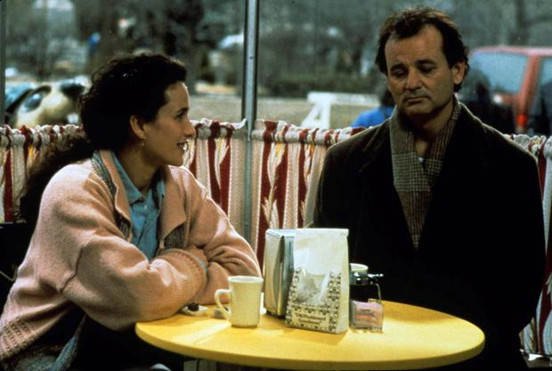 Groundhog Day, starring Bill Murray, which forms the basis for one self-help book.