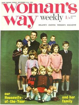 Cover girl: Woman's Way from 1969.