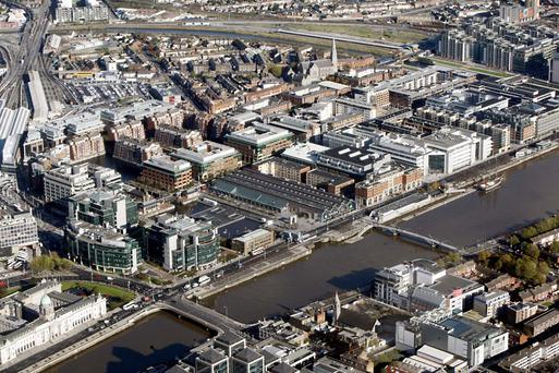World of work: Scott's second novel is set in a firm in Dublin's IFSC.
