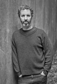 Thoughtful: Laub's novel focuses on an act of childhood brutality.