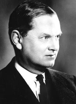 Out of time: Writer Evelyn Waugh found himself completely at odds with the modern world