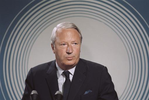 Clear focus: Edward Heath's life work would ultimately be destroyed by Boris Johnson