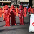 Shades of difference: Statues of Karl Marx in his hometown of vTrier, Germany