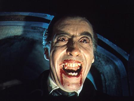 Too familiar: Christopher Lee in the title role of the 1958 Hammer horror film Dracula