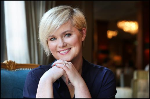 Whimsical return: Cecelia Ahern successfully dabbled with a dystopian drama for her Young Adult debut, Flawed, earlier this year. Photo: Steve Humphreys