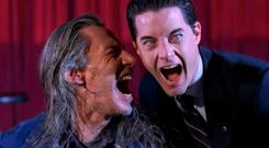 A state of mind: Killer Bob and Agent Cooper in the 1990s' TV series Twin Peaks