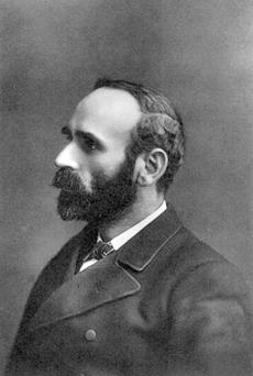 Agrarian agitator: Davitt, the father of the Land League, in the 1890s