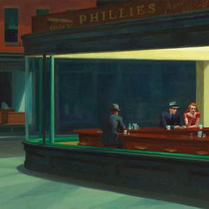 Brush strokes of ambiguity: Michael Connelly writes a short story inspired by Edward Hopper's Nighthawks, which features within In Sunlight or in Shadow