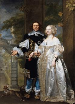 Zest: Margaret Cavendish with her husband William in 1650