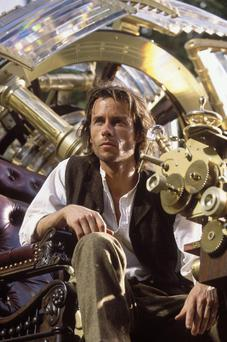 Guy Pearce in the 2002 film version of The Time Machine based on HG Wells' 1895 novel