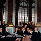 Divided opinion: signing of the Treaty Of Versailles in 1918