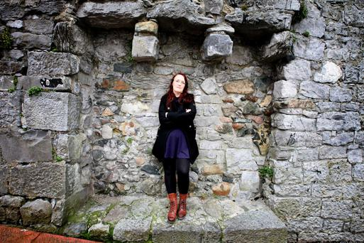 Kinetic quality: Lisa McInerney revisits several characters from her first book in The Blood Miracles. Photo Brian Farrell