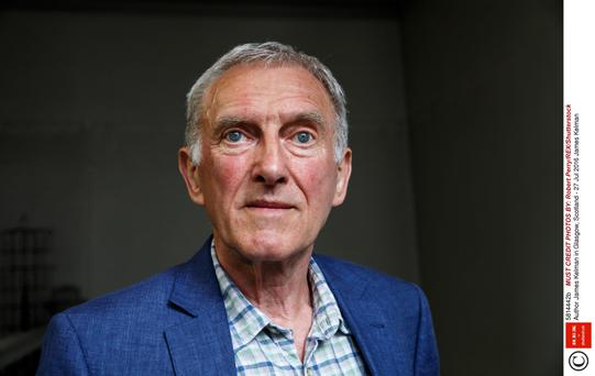 James Kelman: Angering the cultural snobs. Photo: Robert Perry