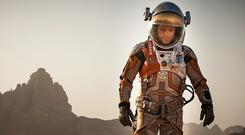 Life on Mars: Matt Damon in the Martian, based on Weir's first book