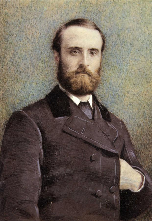 Charles Stewart Parnell, from an 1881 postcard