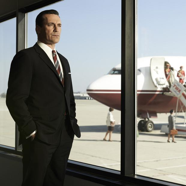 'The Don': Jon Hamm in Mad Men, Weiner's hit TV show