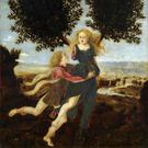 Stumped: Apollo pursues Daphne, only for her to escape by turning into a bay laurel, one of the Greek myths deciphered by Fry