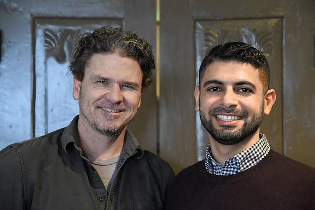 Coffee run: Dave Eggers (left) grips the reader with the retelling of the dangerous missions of Mokhtar Alkhanshali (right)