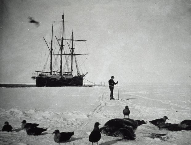 Subduing the antartic: The Byrd expedition which start in 1927. Photo by DeAgostini/Getty Images