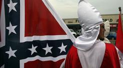 Noxious intent: The term 'America First' has been seized by groups like the Ku Klux Klan