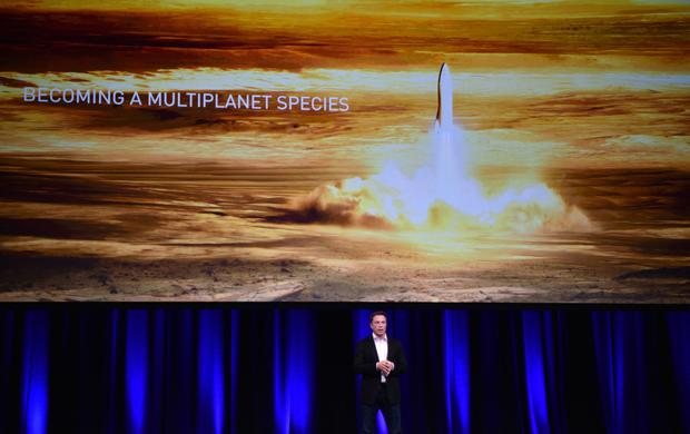 Billionaire entrepreneur and founder of SpaceX Elon Musk