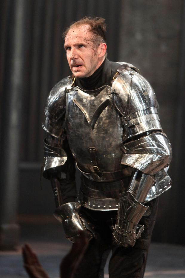 A Machieavellian rise to power: Ralph Fiennes as Richard III on stage in London