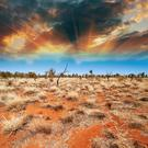 Otherworldly: Howarth evocatively describes the Outback