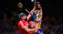 Rebel yell: In one story Cork and Clare do battle
