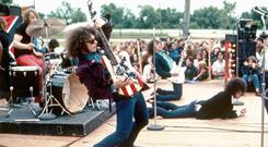 Strung out: Wayne Kramer found fame with MC5, the proto-punk outfit that inspired a generation of musicians