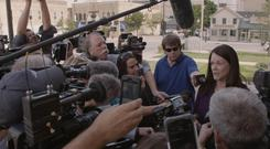 Quest for justice: attorney Kathleen Zellner speaks to the press
