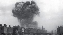 A confetti of documents: The Four Courts explosion in June 1922 is remembered as a great act of cultural vandalism