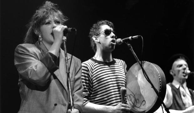 Classic: Kirsty MacColl and Shane MacGowan perform 'Fairytale of New York'