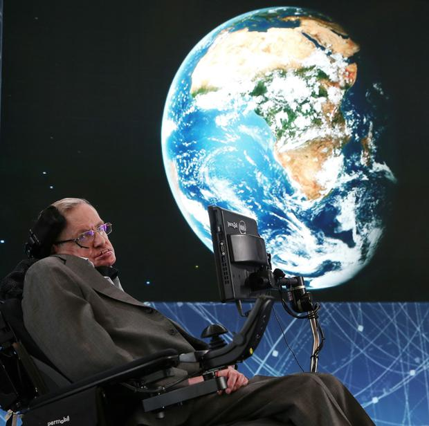 Global influence: The late cosmologist Stephen Hawking pictured in 2016