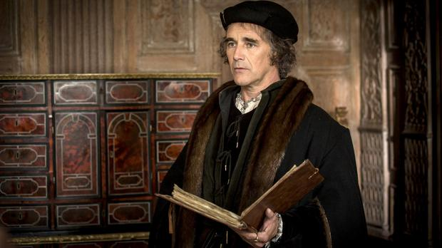 Sympathetic: Mark Rylance as Cromwell in the TV adaptation of Mantel's Wolf Hall