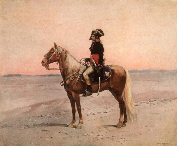 Workaholic: were it not for the French revolution, Napoleon would have had a mediocre military career