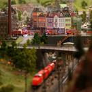 The world's biggest model railway: Miniatur Wunderland in Hamburg, Germany. Photo by Joern Pollex