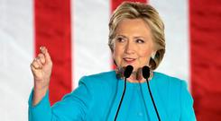 Hillary Clinton; a 'lightening rod' for conspiracy theories, including the debunked Pizzagate, covered in Anna Merlan's book Republic of Lies