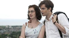 Amiable style: Anne Hathaway and Jim Sturgess in the film version of Nicholls' One Da