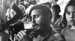 Political vision: Hansen's book deals mainly with Castro's youth
