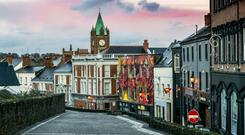 Derry is the setting for this sinister story