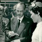Utopian exercise: Klaus Fuchs heading for East Germany in 1959 after his release from prison in Yorkshire