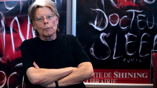 No sign of flagging: Forty years into his career, Stephen King is still experimenting