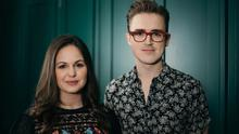 Exploration of chaos: Giovanna and Tom Fletcher. Photo by David Spearing