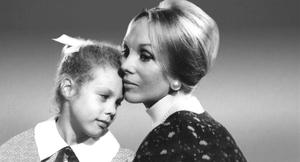Anne Hamilton-Byrne and one of her children, Leeanne