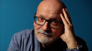 Sombre stories with flashes of wit: Roddy Doyle. Photo by Steve Humphreys